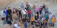KPC participants on a trip  in the Negev.